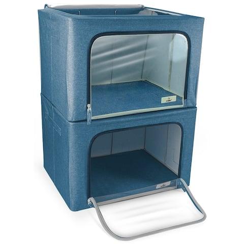Storage Box with Window-2 Pack