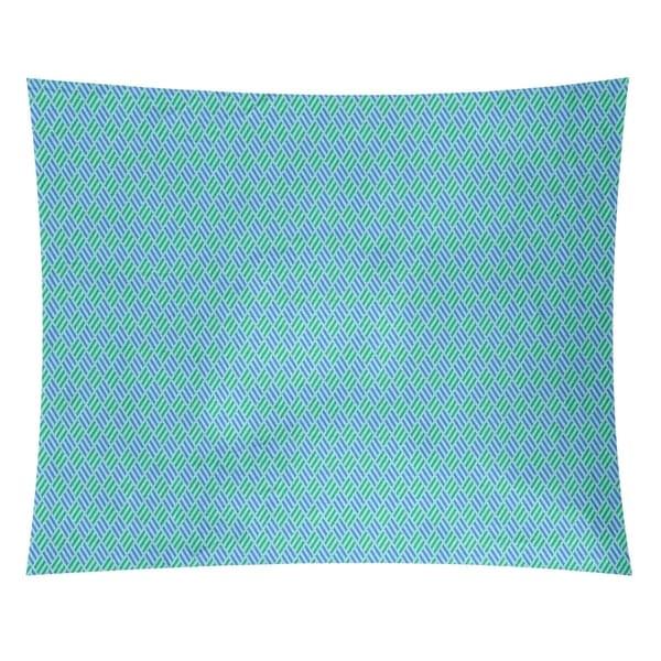 Katelyn Elizabeth Blue Pastel Stripe Diamonds Tapestry