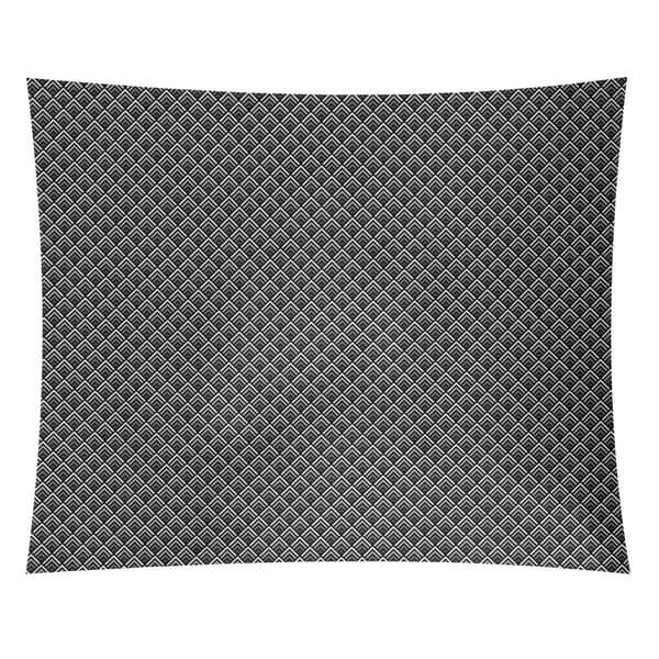 Katelyn Elizabeth Gray Reverse Ombre Geometric Pattern Tapestry