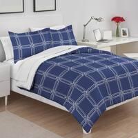 Martex Lynn Blue Comforter Set