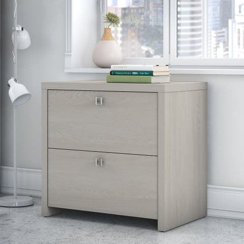 Echo Lateral File Cabinet - Assembled from Office by kathy ireland®