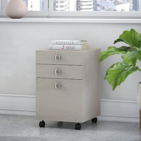 Echo 3 Drawer File Cabinet - Assembled from Office by kathy ireland®