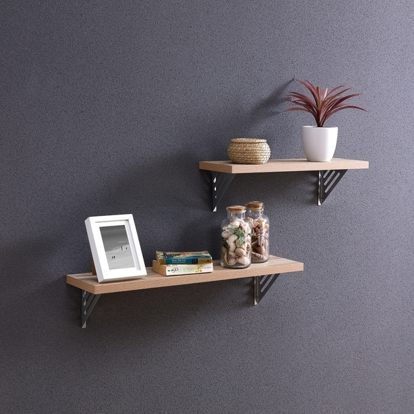 Carbon Loft Isidor 2-piece Wall-mount Shelf Set