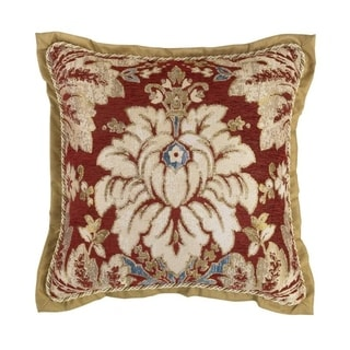"Croscill Arden 18"" Chenille Square Pillow"