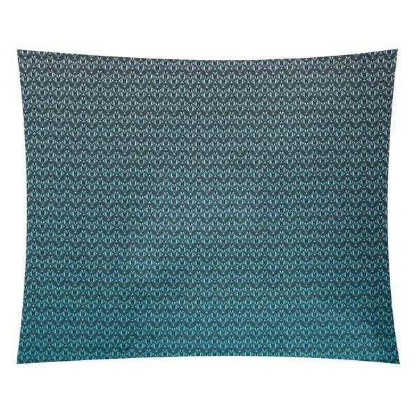 Katelyn Elizabeth Blue Ombre Art Deco Tapestry