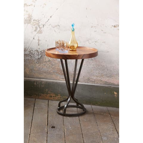 Patina Vie - Vintage Industrial Natural Accents Table