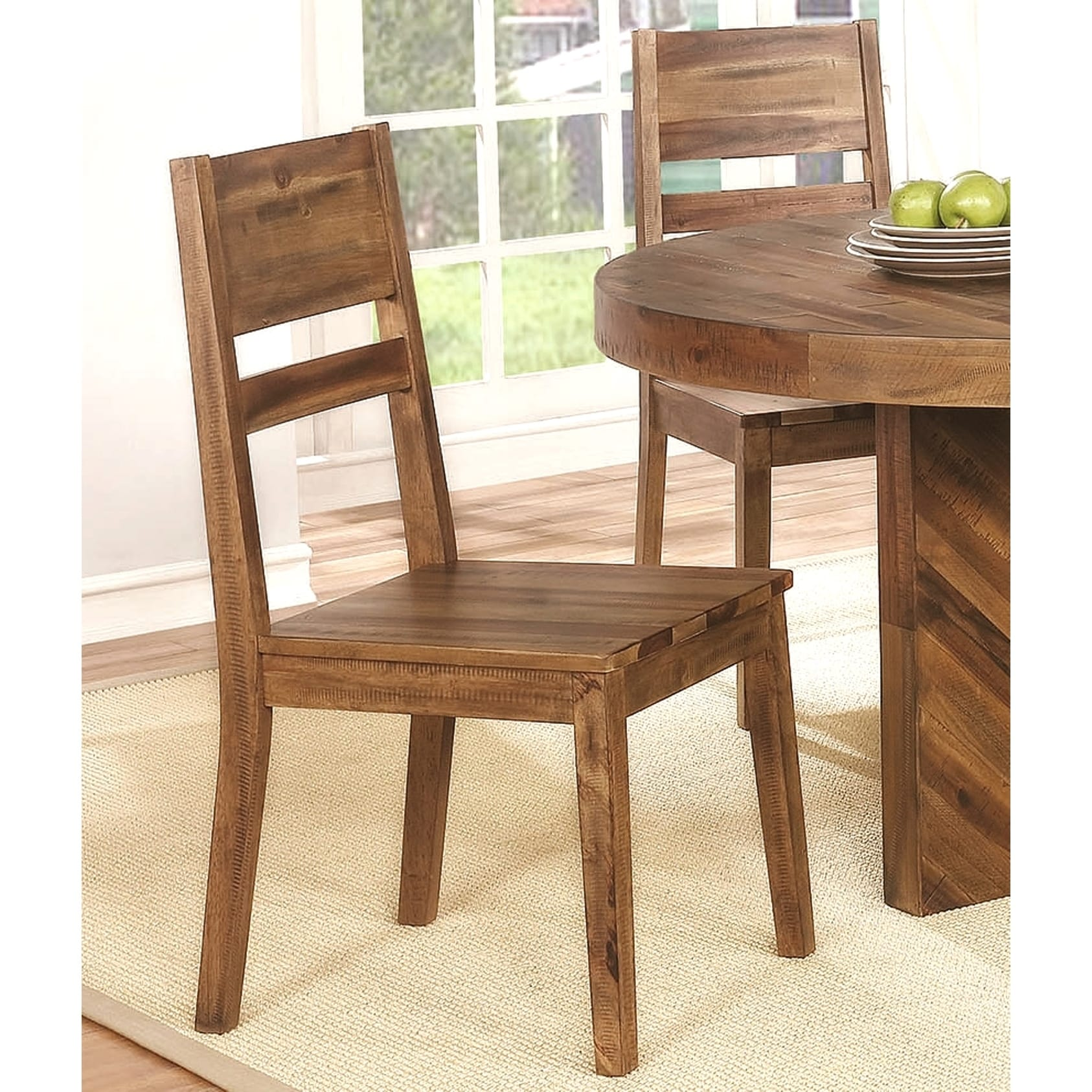 Fabulous Modern Reclaimed Natural Wood Design Dining Chairs Set Of 2 Ibusinesslaw Wood Chair Design Ideas Ibusinesslaworg
