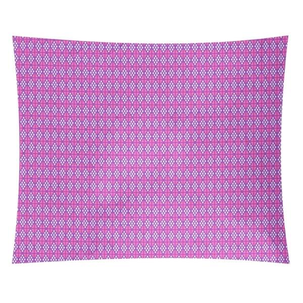 Katelyn Elizabeth Purple with Pink Diamonds Tapestry