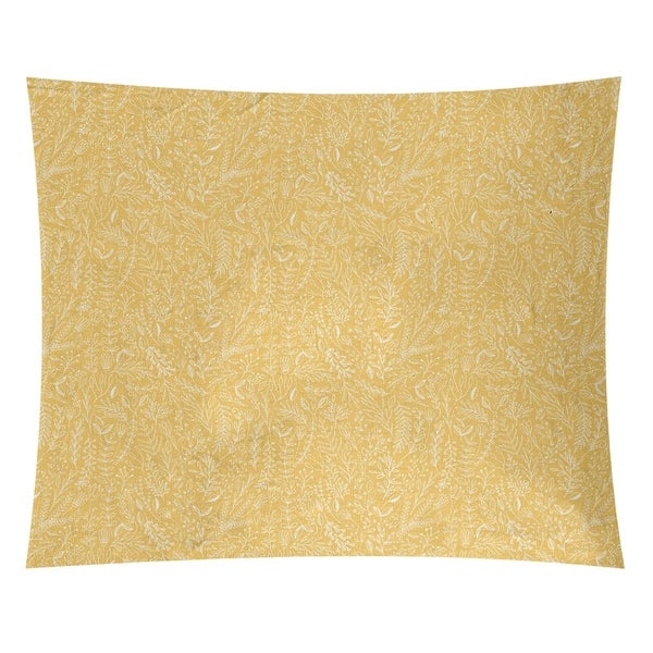 Katelyn Elizabeth Yellow & White Ditsy Floral Pattern Tapestry