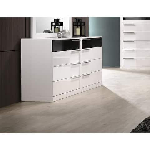 Best Master Furniture 8 Drawer Dresser