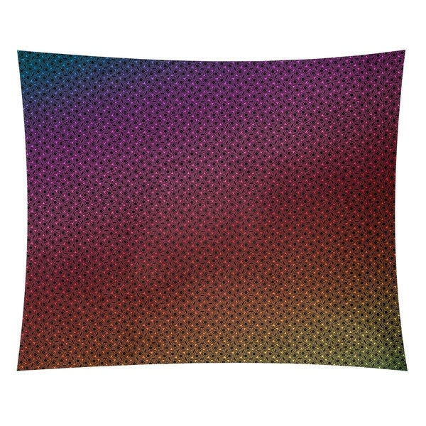 Katelyn Elizabeth Rainbow Hexagonal Lattice Tapestry