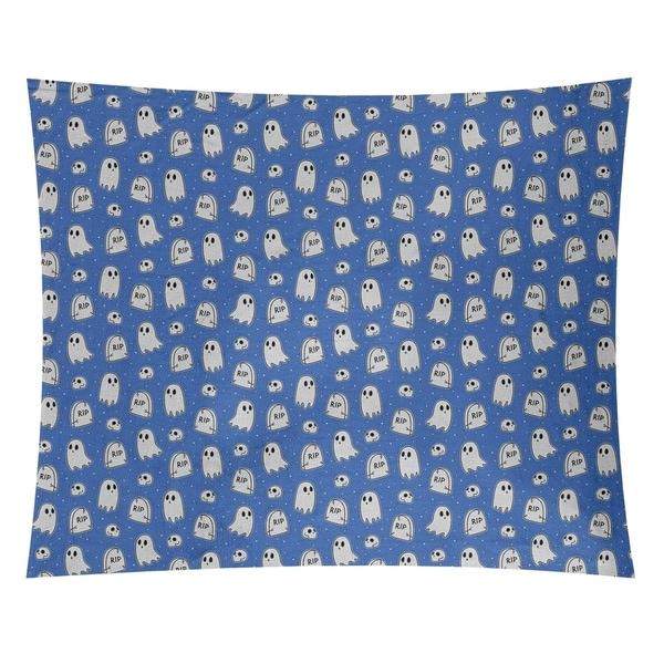 Katelyn Elizabeth Blue Ghost Pattern Tapestry