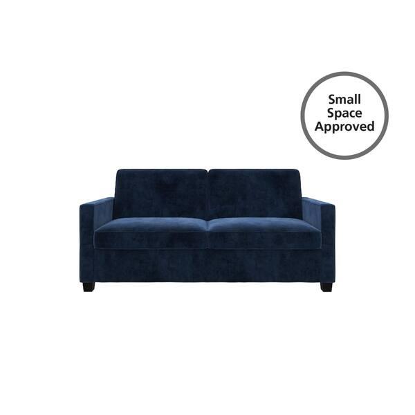 Phenomenal Shop Copper Grove Slavuta Blue Velvet Loveseat Full Sofa Lamtechconsult Wood Chair Design Ideas Lamtechconsultcom