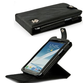 Leather Wallet Case Specifically For the Samsung Galaxy Note 2