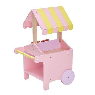 Olivia's Little World - Modern Princess Doll Pastry Cart with Fruit boxes