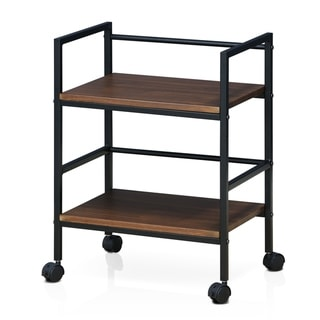 Porch & Den Gold Brook Modern Storage Cart with Casters
