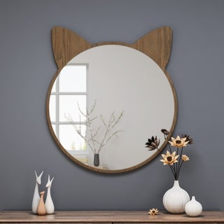 Boca Cat Ear Vanity Mirror by Christopher Knight Home