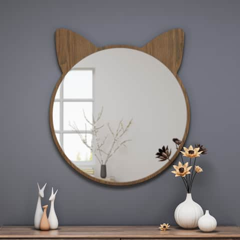 Boca Cat Ear Vanity Mirror by Christopher Knight Home - N/A