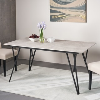 Botany Bay Modern Dining Table with Laminate Table Top by Christopher Knight Home