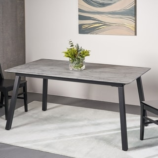 Corcoran Modern Resin Dining Table by Christopher Knight Home
