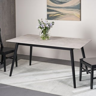 Georgetowne Modern Resin Dining Table by Christopher Knight Home