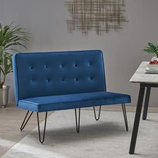 Buy Dining Bench Velvet Kitchen Room Chairs Online At Overstock