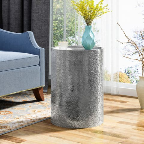 Braeburn Modern Round Accent Table by Christopher Knight Home