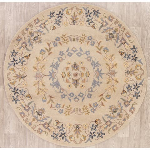 Washable 6 Round Square Area Rugs