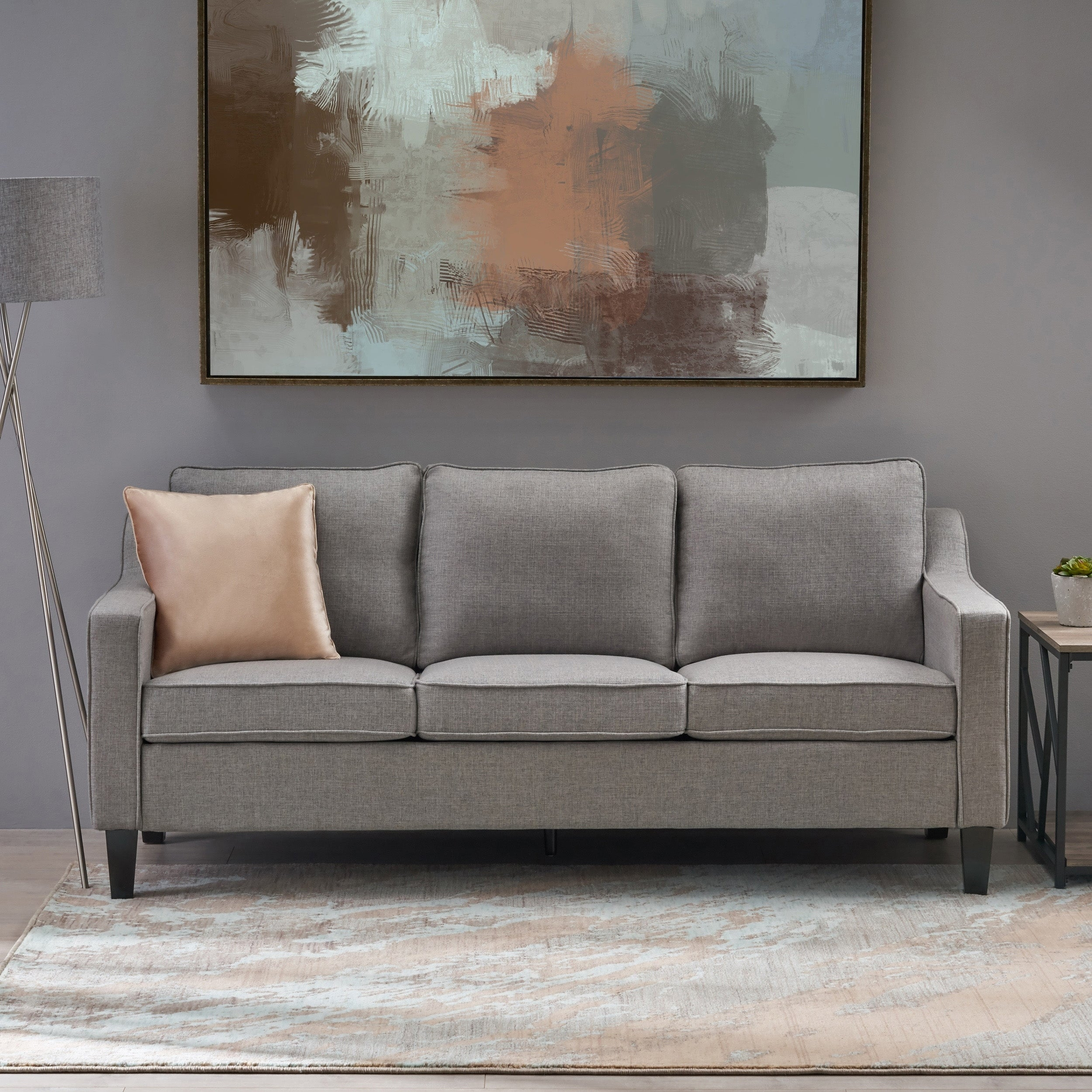Berland Contemporary Fabric Sofa