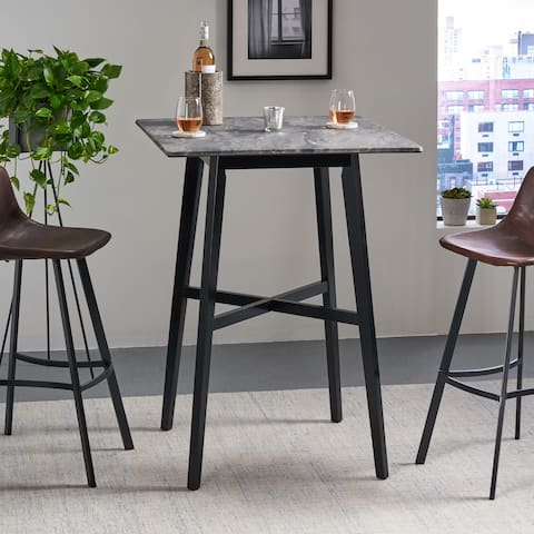 Christopher Knight Home Kenilworth Laminate Rubberwood Modern Bar Table