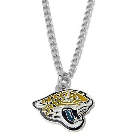 NFL Jacksonville Jaguars Sports Team Logo Necklace Charm Pendant