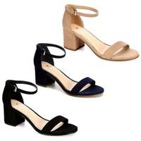 2903162848a Shop White Mountain Women s Ermaline Ankle Strap Sandal Navy Smooth ...