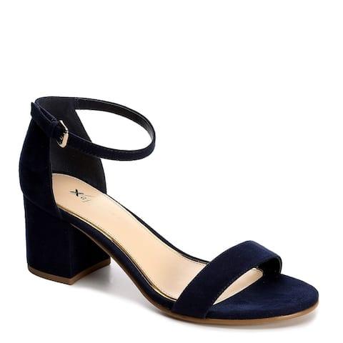 35a4a0da0 Xappeal Womens Harlow Block Heel Dress Sandal Shoes
