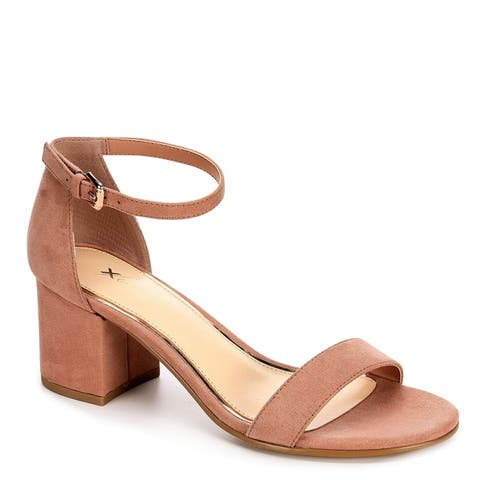c5db4c0c827 Xappeal Womens Harlow Block Heel Dress Sandal Shoes