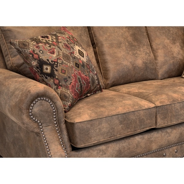 Made In Usa Rancho Rustic Brown