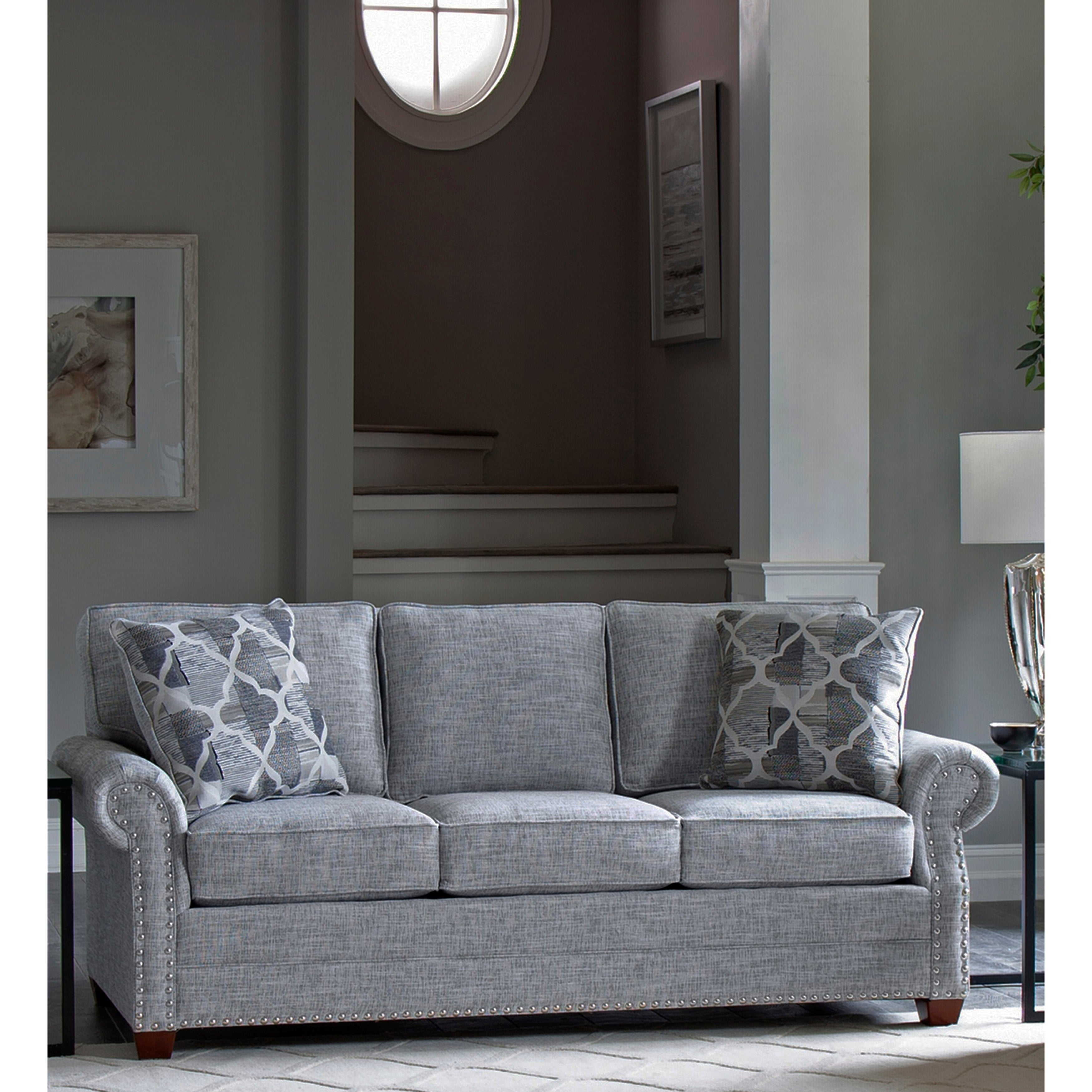 Usa Marner Grey Fabric Sofa Bed