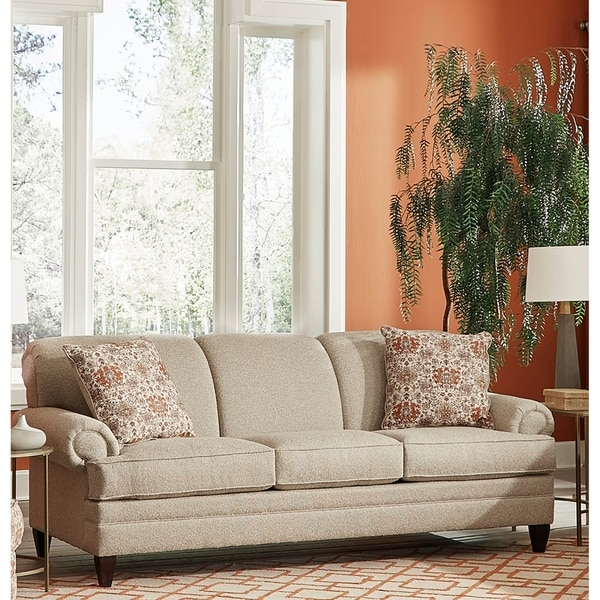 Shop Made In USA Tilson Beige Fabric Sofa Bed