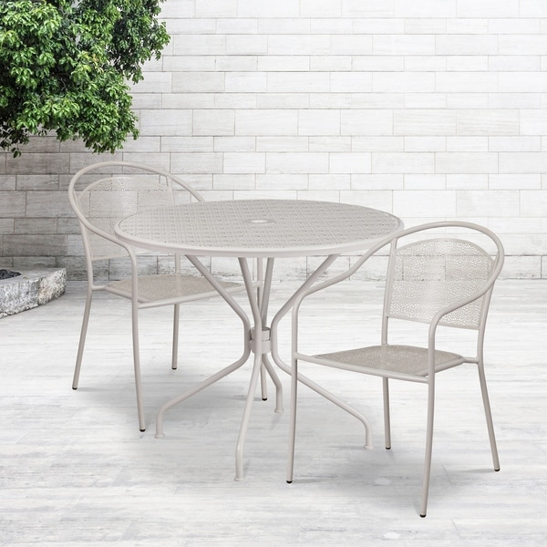 35.25RD Patio Table Set-2Chair