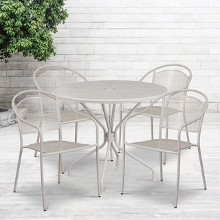 35.25RD Patio Table Set-4Chair