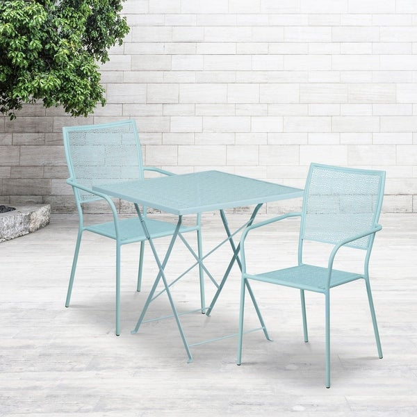 Havenside Home Fox Bay Fold Table with 2 Chairs