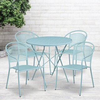 30RD Fold Table Set-4 Chairs