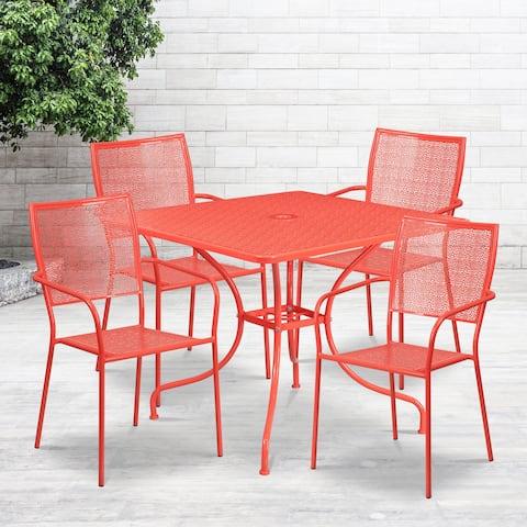 Havenside Home Fox Bay 5-piece Patio Table Set