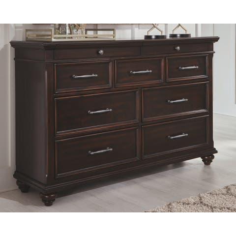 Brynhurst Dresser - Traditional Style - Dark Brown