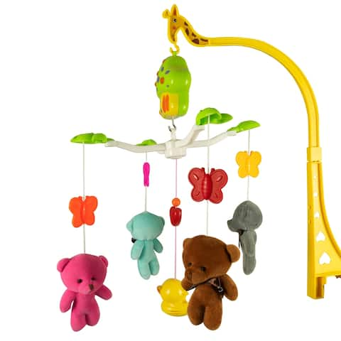 Wind Up Plush Musical Bear Baby Mobile