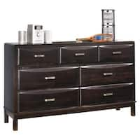 Signature Design by Ashley Kira Contemporary Almost Black 7-drawer Dresser