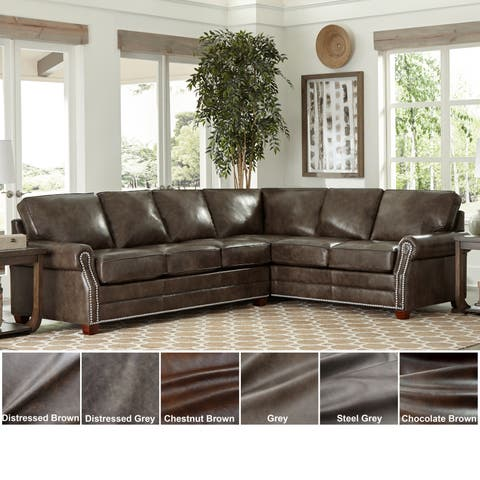 Buy Sectional Sofa, Leather Online at Overstock | Our Best Living ...
