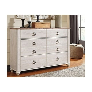Willowton Whitewash Dresser