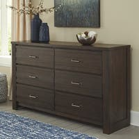 Signature Design by Ashley Darbry Contemporary Brown Wood Dresser