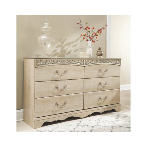 Catalina Antique White Dresser