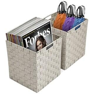 Woven Storage Bins- 2 Pack